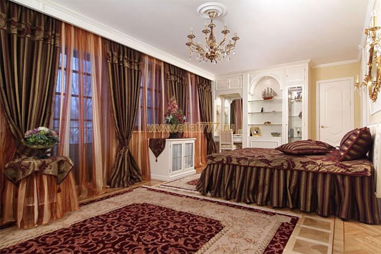 Шторы турецкие модные для спальни и зала